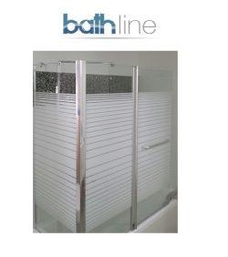 אמבטיון קבוע ודלת + דופן צד SELAQUA