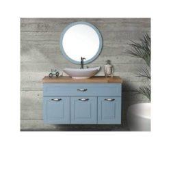 ארון אמבטיה תלוי דגם רויאל כולל כיור