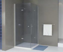 מקלחון פינתי מרובע הרמוניקה מתקפל 70*70 מידה מיוחדת SELAQUA