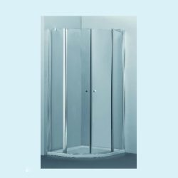מקלחון פינתי מעוגל על ציר 87-88.5
