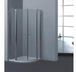 מקלחון פינתי מעוגל על ציר 77-78.5 דגם MARTIN SELAQUA