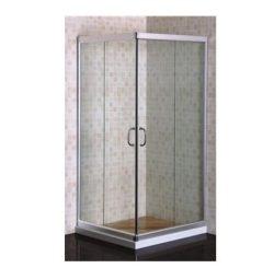 מקלחון פינתי מרובע הזזה 90*80 מידה מיוחדת SELAQUA