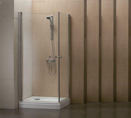 מקלחון פינתי מרובע שתי דלתות מידה מיוחדת SELAQUA