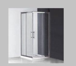 מקלחון פינתי מרובע הזזה 80*70 מידה מיוחדת