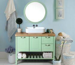 ארון אמבטיה עומד דגם דרור כולל כיור