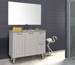 ארון אמבטיה עומד דגם נילי כולל כיור