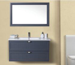 ארון אמבטיה תלוי דגם סלע כולל כיור