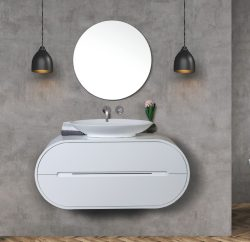 ארון אמבטיה תלוי דגם אלקסה כולל כיור