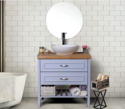 ארון אמבטיה עומד דגם ספיר כולל כיור