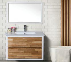 ארון אמבטיה תלוי דגם רימון כולל כיור