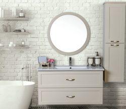 ארון אמבטיה תלוי דגם אלה כולל כיור