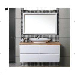 ארון אמבטיה תלוי דגם יאנג כולל כיור