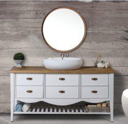 ארון אמבטיה עומד דגם הראל כולל כיור