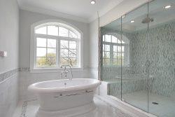 מקלחון חזית  שני קבועים ודלת