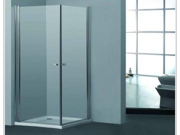 מקלחון פינתי מרובע שתי דלתות