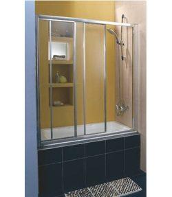 """אמבטיון קבוע ושתי דלתות הזזה 140-150 ס""""מ"""