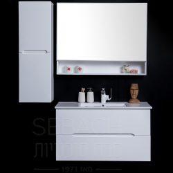 """ארון אמבטיה תלוי נובל אופק 60-120 ס""""מ"""