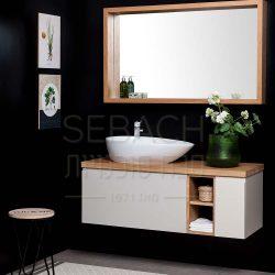 """ארון אמבטיה תלוי איזבלה ספיישל 80-150 ס""""מ"""