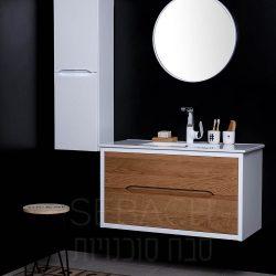 """ארון אמבטיה תלוי ווד אמילי קיים במידות 60-120 ס""""מ"""