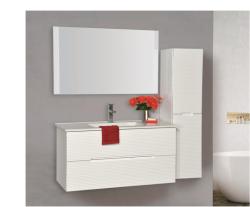 """ארון אמבטיה תלוי דגם סידני כולל כיור מידה 120 ס""""מ"""