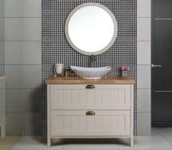 ארון אמבטיה עומד דגם מורן כולל כיור
