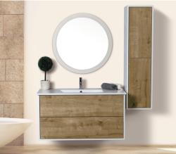 ארון אמבטיה תלוי דגם ורד כולל כיור