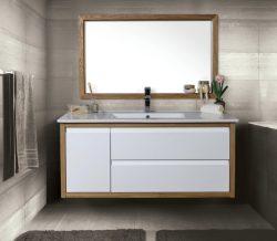 ארון אמבטיה תלוי דגם סול כולל כיור