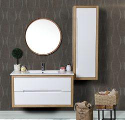 ארון אמבטיה תלוי דגם כריס כולל כיור