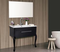 ארון אמבטיה עומד דגם ונציה כולל כיור