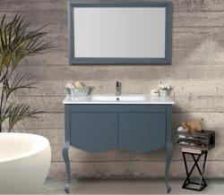 """ארון אמבטיה עומד דגם אימפייר כולל כיור מידה 75-80 ס""""מ"""