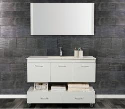 ארון אמבטיה פורמייקה דגם תבור כולל כיור