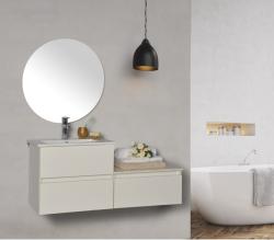 ארון אמבטיה תלוי פורמייקה דגם פרינס A פרינס B כולל כיור