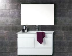 """ארון אמבטיה תלוי דגם ליאור כולל כיור מידה 90-100 ס""""מ"""