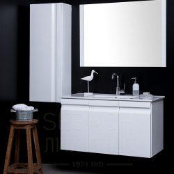 """ארון אמבטיה תלוי נובל ברנדה 60-120 ס""""מ"""