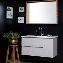 """ארון אמבטיה תלוי נובל גלוריה 90-150 ס""""מ"""