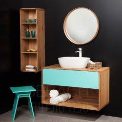 """ארון אמבטיה תלוי ווד קליר קיים במידות 60-120 ס""""מ"""