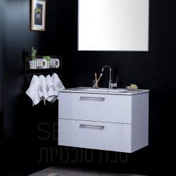 """ארון אמבטיה תלוי קלאסיק זהבית 60-120 ס""""מ"""
