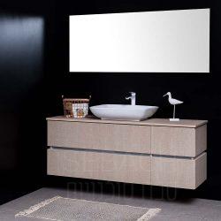 """ארון אמבטיה תלוי סיטי טוקיו 110-150 ס""""מ"""