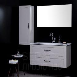 """ארון אמבטיה תלוי סילבר ליאון 60-120 ס""""מ"""