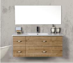 ארון אמבטיה תלוי פורמייקה דגם גיא כולל כיור