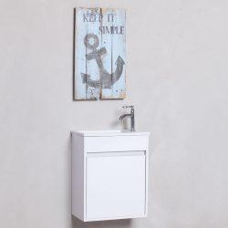 """ארון אמבטיה תלוי פרייבט שני 46 ס""""מ"""