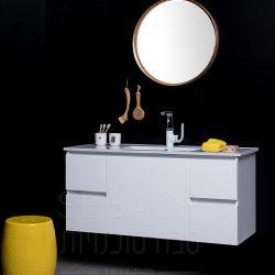 """ארון אמבטיה תלוי נובל כרמן 60-120 ס""""מ"""