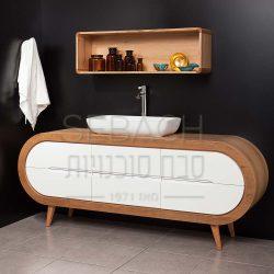 """ארון אמבטיה עומד קפסולה ג'וי 150-200 ס""""מ"""