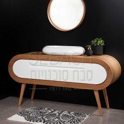 """ארון אמבטיה עומד קפסולה האפי 120-160 ס""""מ"""