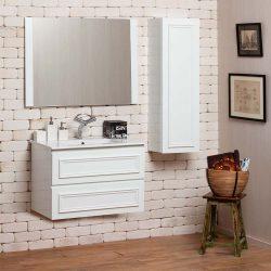 """ארון אמבטיה עומד ענתיק רומיאו מידה 90-100 ס""""מ"""