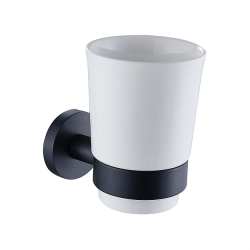 כוס תלויה עדן שחור מט