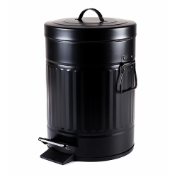 פח רטרו שחור