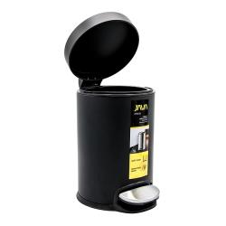 פח סגירה שקטה 3 ליטר שחור