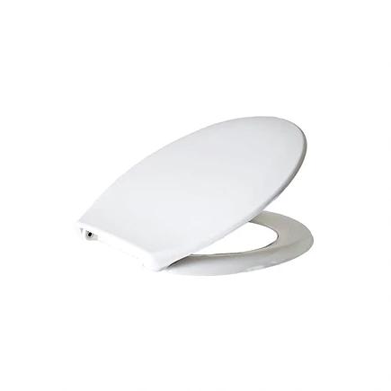 מושב דורופלסט לבן טריקה שקטה