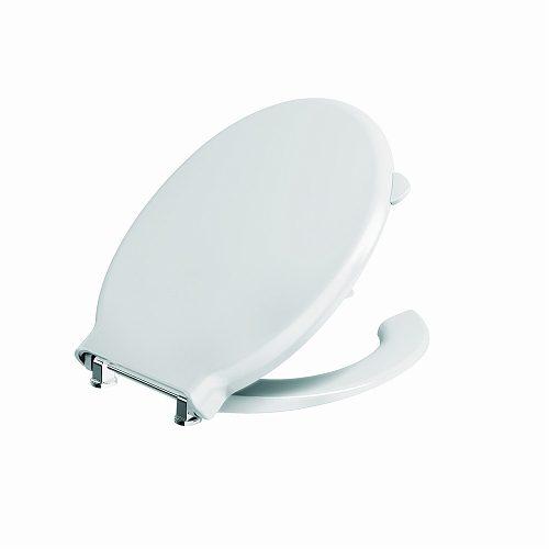 מושב פרסה לנכים SC עם מכסה צירי מתכת נשלפים
